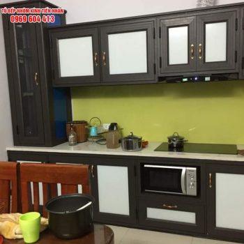 tủ bếp nhôm Xingfa